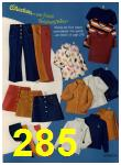 1972 Sears Fall Winter Catalog, Page 285