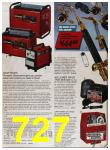 1986 Sears Fall Winter Catalog, Page 727