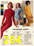 1973 Sears Fall Winter Catalog, Page 204