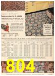 1958 Sears Spring Summer Catalog, Page 804