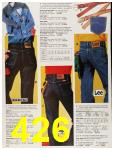 1987 Sears Fall Winter Catalog, Page 426