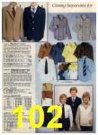 1980 Sears Fall Winter Catalog, Page 102