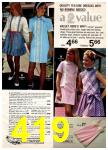 1972 Montgomery Ward Spring Summer Catalog, Page 419