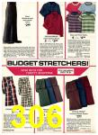 1975 Sears Fall Winter Catalog, Page 306