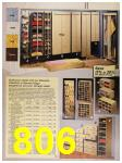 1987 Sears Spring Summer Catalog, Page 806