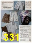 1991 Sears Spring Summer Catalog, Page 331