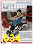 1985 Sears Fall Winter Catalog, Page 634