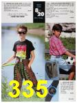 1991 Sears Spring Summer Catalog, Page 335