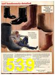 1974 Sears Fall Winter Catalog, Page 539