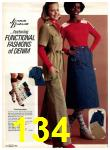 1977 Sears Fall Winter Catalog, Page 134