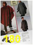 1985 Sears Fall Winter Catalog, Page 180