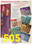 1967 Sears Fall Winter Catalog, Page 505