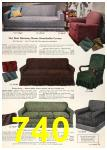 1958 Sears Spring Summer Catalog, Page 740