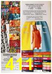 1972 Sears Spring Summer Catalog, Page 411