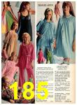 1969 Sears Fall Winter Catalog, Page 185