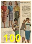 1961 Sears Spring Summer Catalog, Page 100