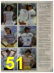 1984 Sears Spring Summer Catalog, Page 51