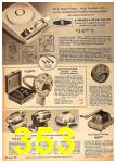 1962 Sears Fall Winter Catalog, Page 353