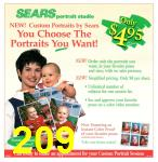 1995 Sears Christmas Book, Page 209