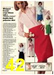 1974 Sears Spring Summer Catalog, Page 42