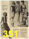 1960 Sears Spring Summer Catalog, Page 351