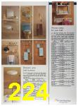 1989 Sears Home Annual Catalog, Page 224