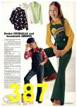 1975 Sears Fall Winter Catalog, Page 387