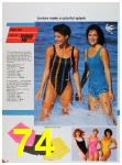 1986 Sears Spring Summer Catalog, Page 74