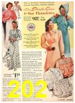 1940 Sears Fall Winter Catalog, Page 202