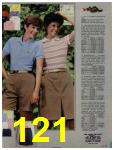1984 Sears Spring Summer Catalog, Page 121