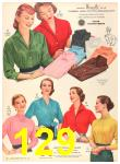 1956 Sears Fall Winter Catalog, Page 129