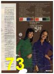 1972 Sears Fall Winter Catalog, Page 73