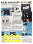 1989 Sears Home Annual Catalog, Page 922