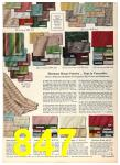 1958 Sears Fall Winter Catalog, Page 847