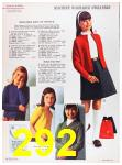 1967 Sears Fall Winter Catalog, Page 292