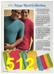 1969 Sears Spring Summer Catalog, Page 512