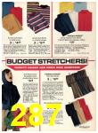 1974 Sears Fall Winter Catalog, Page 287
