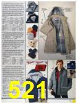 1986 Sears Fall Winter Catalog, Page 521
