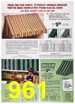 1972 Sears Spring Summer Catalog, Page 961