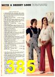 1974 Sears Spring Summer Catalog, Page 385