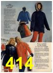 1972 Sears Fall Winter Catalog, Page 414