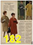 1962 Sears Spring Summer Catalog, Page 182