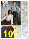 1985 Sears Fall Winter Catalog, Page 107