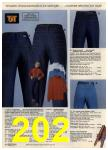 1980 Sears Fall Winter Catalog, Page 202