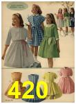 1962 Sears Spring Summer Catalog, Page 420