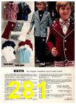 1974 Sears Spring Summer Catalog, Page 281
