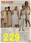 1984 Sears Spring Summer Catalog, Page 229