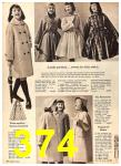 1960 Sears Fall Winter Catalog, Page 374