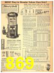1949 Sears Spring Summer Catalog, Page 869