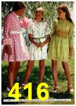 1972 Montgomery Ward Spring Summer Catalog, Page 416